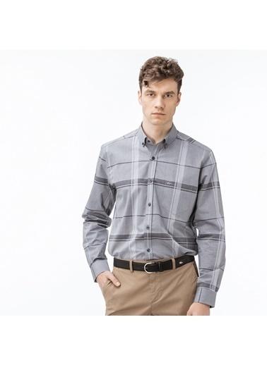 Lacoste Erkek Regular Gömlek CH1903.03S Gri